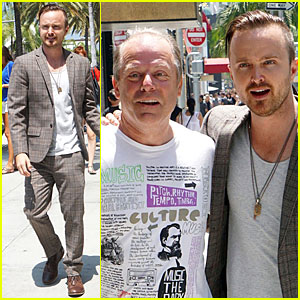 Breaking Bad's Aaron Paul Shows Why He's Such a Nice Guy