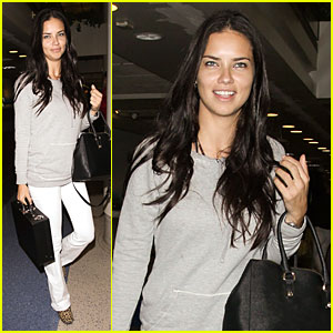 Adriana Lima Drives Us Wild Without Lingerie at LAX Airport