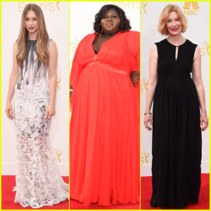 'AHS' Ladies Taissa Farmiga, Gabourey Sidibe & Frances Conroy Light Up the Emmys 2014 Red Carpet