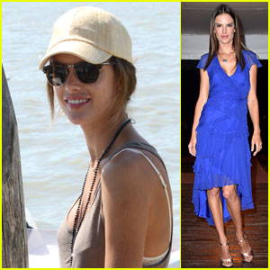 Alessandra Ambrosio Brings Her Style to the Venice Film Festival!