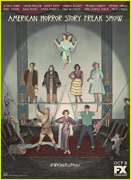 'American Horror Story: Freak Show' Poster Reveals Characters!