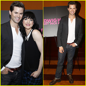 Andrew Rannells Attends 'Hedwig & the Angry Inch' Photo Call Before Taking Over for Neil Patrick Harris