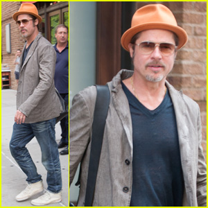 Brad Pitt Wears His Favorite