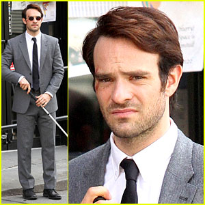 Charlie Cox in 'Daredevil' Netflix Series - First Photos from Set!