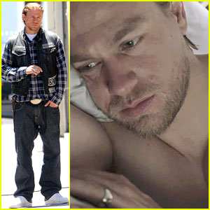 Charlie Hunnam Goes Shirtless in New 'Sons of Anarchy' Trailer!