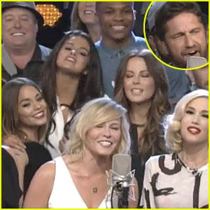 Gerard Butler, Vanessa Hudgens, & Selena