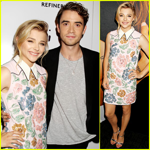 Chloe Moretz Premieres 'If I Stay' in NYC with Jamie Blackley