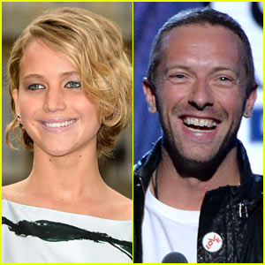 Chris Martin Reportedly Writes Songs for Jennifer Lawrence!
