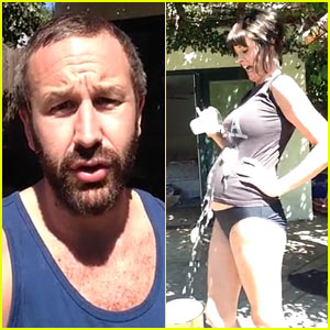 Chris O'Dowd Reveals His Baby News via Ice Bucket Challenge!