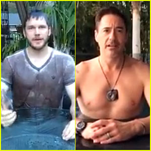 Chris Pratt Does the Ice Bucket Challenge with a Twist - Watch!