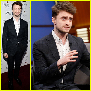 Daniel Radcliffe Promotes New Rom-Com 'What If' on 'Late Night with Seth Meyers' - Watch Now!