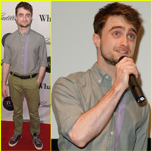 Daniel Radcliffe Memorized the Names of the Crew Before Filming His Latest Movie 'What If'