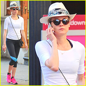 Diane Kruger's Hot Pink Sneakers Capture Our Attention!