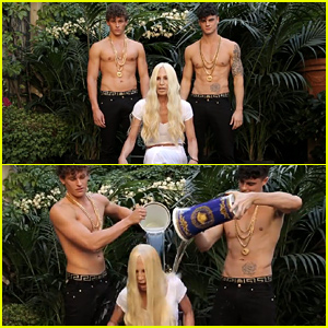 Donatella Versace's Ice Bucket Challenge Video is So Epic - Watch Now!