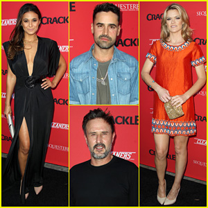 Emmanuelle Chriqui Joins Her 'Cleaners' Co-Stars at Crackle's Summer Premieres Event!