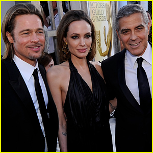 George Clooney Congratulates Good Friends Angelina Jolie & Brad Pitt On Their Wedding!