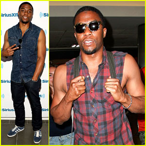 Get On Up's Chadwick Boseman Loves Showing Off His Arms!