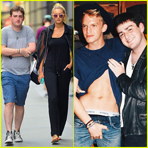 Model Gigi Hadid Grabs Lunch with Cody Simpson's Super Fan