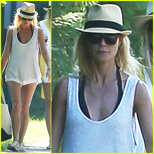 Gwyneth Paltrow Steps Out For First Time Since Brad Falchuk Romance Rumors