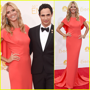 Heidi Klum Goes 'Sophisticated' at Emmys 2014 with Zac Posen!