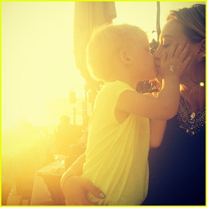Hilary Duff Shares Adorable Vacation Photo with Son Luca & Debuts 'All About You' Lyric Video!