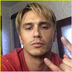 James Franco Debuts New Bleached Blond Hair - See the Pic!