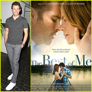 James Marsden Brings Out 'The Best of Me' - Watch Trailer Now!