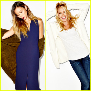 Jamie Chung & Anna Camp Get Ready for Autumn with Aritzia's #FallForUs Campaign