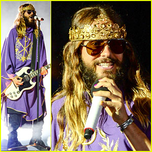 Jared Leto Crowns Himself King at Thirty Seconds to Mars Concert