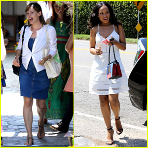 Jennifer Garner & Kerry Washington Shop Till They Drop at Day of Indulgence