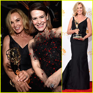 Jessica Lange Brings Her Emmy to Fox's After Party!