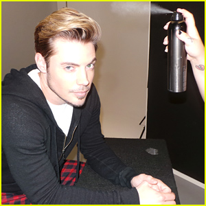 'Dallas' Star Josh Henderson Heats Up the JJ Spotlight (Behind the Scenes Photos