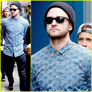 Justin Timberlake Steps Out After Reportedly Sending Controversial Birthday Tweet to Madonna
