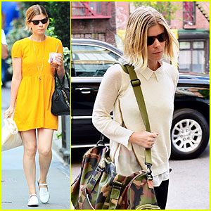 Kate Mara Is Mellow Yellow During Shopping Trip in the Big Apple
