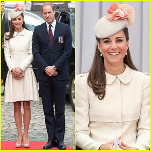 Kate Middleton & Prince William Put On Their Best for a WWI 100 Years Commemoration Ceremony in Belgium!