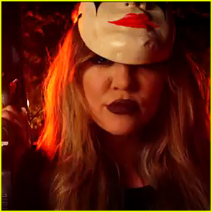 Khloe Kardashian Stars in French Montana's Scary 'Don't Panic' Music Video - Watch Now!