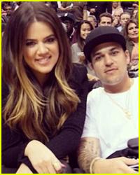 Khloe & Rob Kardashian Share a Sweet Moment - See it Here