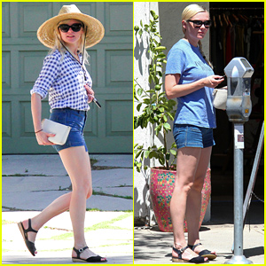 Kirsten Dunst Makes a Day of Running Her Errands in Town!