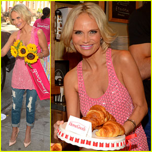 Kristin Chenoweth Is Full of 'Happiness' After Her Health Scare