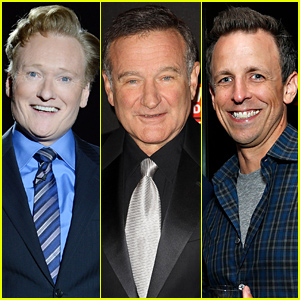 Late Night Hosts Conan O'Brien & Seth Meyers Honor Robin Williams (Video)