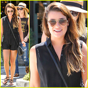 Lea Michele Gets 'Rejuven'ated in Los Angeles