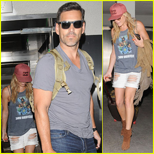 LeAnn Rimes & Eddie Cibrian Touch Down at LAX After Visiting St. Louis!