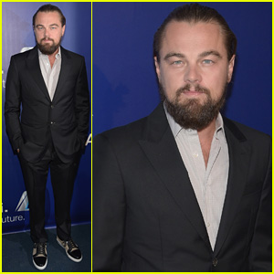 Leonardo DiCaprio Slicks His Hair Back for Oceana's SeaChange Summer Party 2014