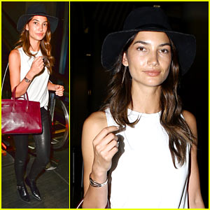 Lily Aldridge Hosts a Dinner Party in Her Underwear - Watch Now!