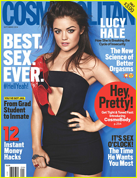 Lucy Hale on 'Fifty Shades of Grey' Audition: 'It Was So Uncomfortable!'