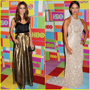 Maria Menounos & Rocsi Diaz Bring the Glamour to HBO's Emmys 2014 After Party