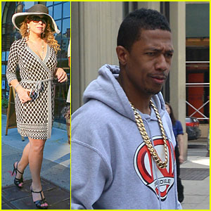 Mariah Carey & Nick Cannon Step Out Separately Amid Marriage Troubles