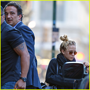 Mary-Kate Olsen & Fiance Olivier Sarkozy Pack Up