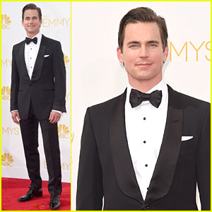 Matt Bomer Looks So Dreamy on Emmys 2014 Red Carpet