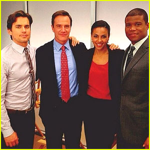 Matt Bomer & 'White Collar' Cast Post Pics from Last Day on Set